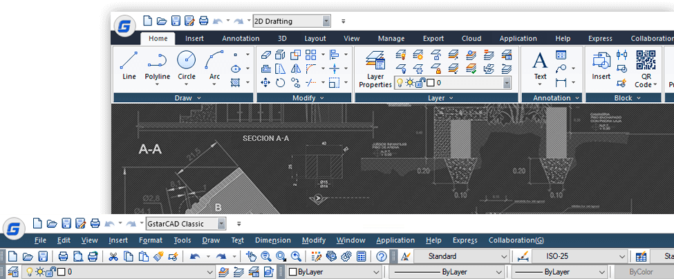GstarCAD – Universal CAD program with lifetime license